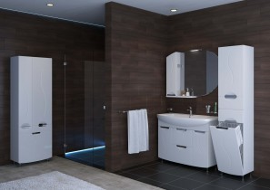 Omara za kopalnico Gloria - 60 cm talna