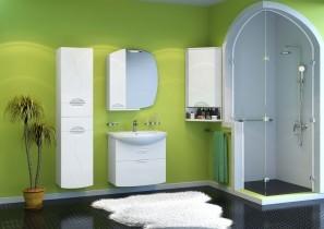 Omara za kopalnico Gloria - 40 cm stenska