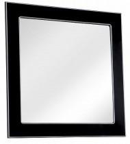 Ogledalo za kopalnico Beatrice - 80 cm črno krom