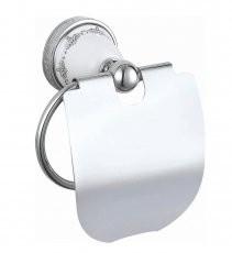 Držalo za WC papir s pokrovom Victoria