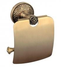 Držalo za WC papir s pokrovom Milano