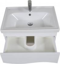 Omarica z umivalnikom Alfa - 65 cm stenska
