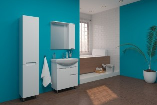 Ogledalo za kopalnico Quadro - 70 cm