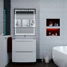 Omarica z umivalnikom Headway - 100 cm talna