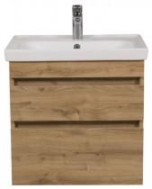 Omarica z umivalnikom Vintag - 60 cm stenska sevilja