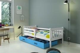 Otroška postelja Carino bela