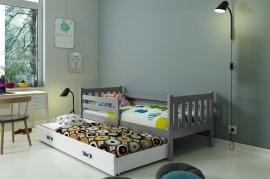 Otroška postelja Carino z dodatnim ležiščem