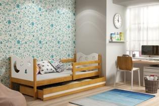 Otroška postelja Miko - 80x190 cm