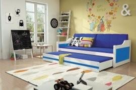 Otroška postelja Dawid - 90x200 cm z dodatnim ležiščem