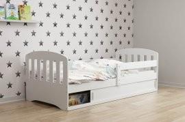 Otroška postelja Classic-1 - 80x160 cm - bela-bela