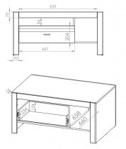 Klubska miza Arko 12