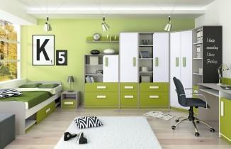 Pisalna miza IQ 11 - zelena