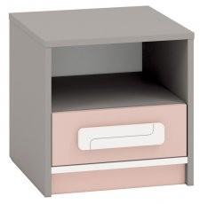 Nočna omarica IQ 13 - roza