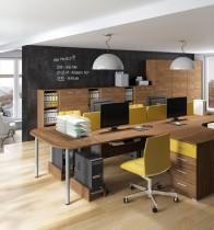 Ločilnik za pisalne mize Optimal 26