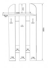 Obešalnik W 59-01