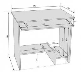 Pisalna miza Alfa