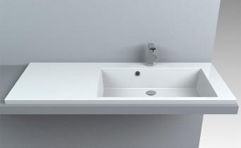 Nadpultni umivalnik Genius 1250