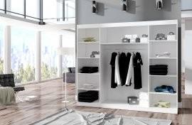 Garderobna omara z drsnimi vrati Denis 215x250x58 cm