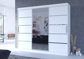 Garderobna omara z drsnimi vrati Salto