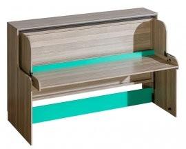 Postelja ki se spremeni v delovno mizo Ultimo U16 - 90x200 cm