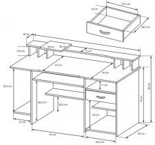 Pisalna miza P4