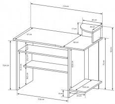 Pisalna miza P5