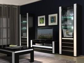 Dnevna soba Linn - črna