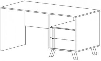 Pisalna miza Malmo 60