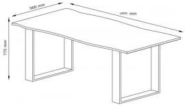 Jedilna miza Oak 05