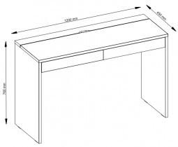 Pisalna miza Wing 60