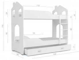 Pograd Dominik Domek N 1608 - 80x160 cm (5 barv)
