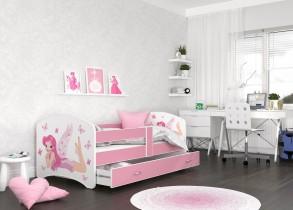 Otroška postelja Lucky 90x180 cm