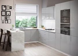 Kuhinja Luna light grey - vsi elementi