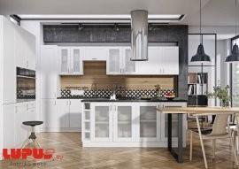 Kuhinja Milano bianco super mat - vsi elementi