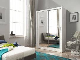 Garderobna omara z drsnimi vrati Maja 2 130