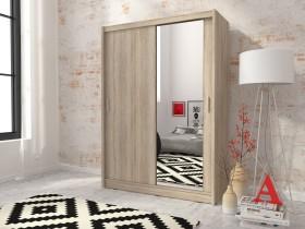 Garderobna omara z drsnimi vrati Maja 1 150