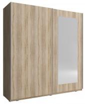 Garderobna omara z drsnimi vrati Mika VIII 150