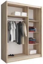 Garderobna omara z drsnimi vrati Wiki 150
