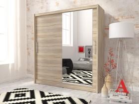 Garderobna omara z drsnimi vrati Maja I 180