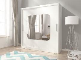 Garderobna omara z drsnimi vrati Maja VIII 180
