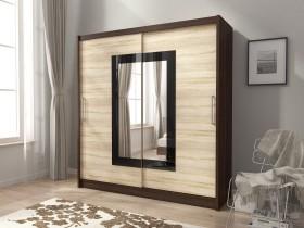 Garderobna omara z drsnimi vrati Wiki II 180