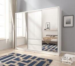 Garderobna omara z drsnimi vrati Sara 250