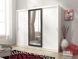 Garderobna omara z drsnimi vrati Wiki II 250