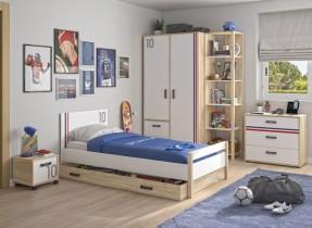 Otroška postelja Kyllian 120x200 cm