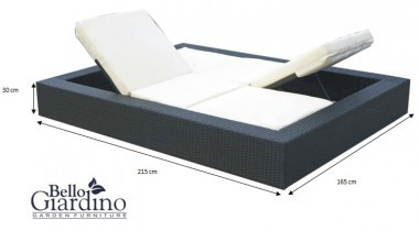Vrtna postelja Umile - LO.003.007