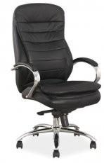 Pisarniški stol Q -154 - črn