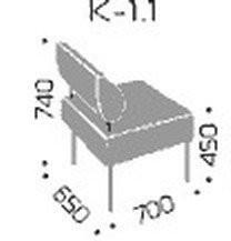 Fotelj Kvadro 1.1