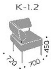 Fotelj Kvadro 1.2