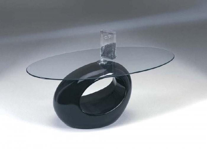 Klubska miza Nadja črna
