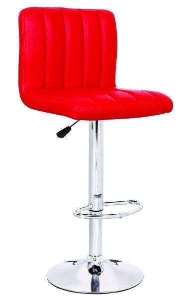 Barski stol Hot II rdeč